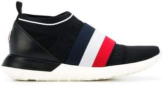Moncler logo slip-on sneakers