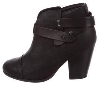 Rag & Bone Harrow Leather Ankle Boots
