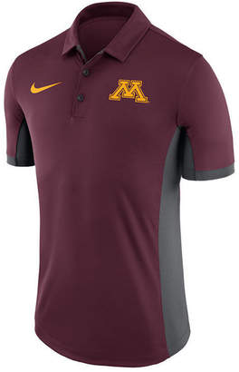 Nike Men Minnesota Golden Gophers Evergreen Polo
