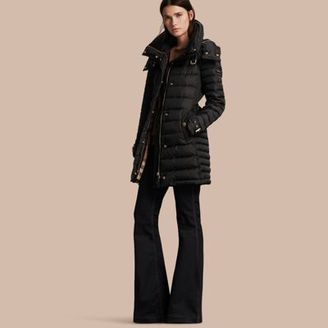 Burberry Down-filled Puffer Coat with Packaway Hood $1,150 thestylecure.com