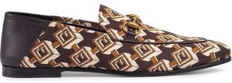 Gucci Geometric G print loafers