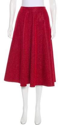 Golden Goose Metallic A-Line Skirt
