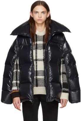 Calvin Klein Black Chintz Puffer Jacket