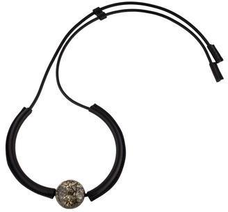 MarniMarni Leather Collar Necklace