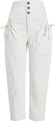 Isabel Marant toile Weaver Pants with Linen