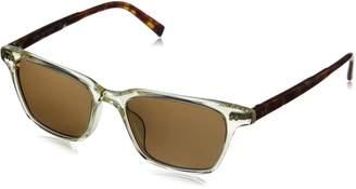 John Varvatos Men's V804 Rectangular Reading Glasses, Yellow Crystal UF, 1.5