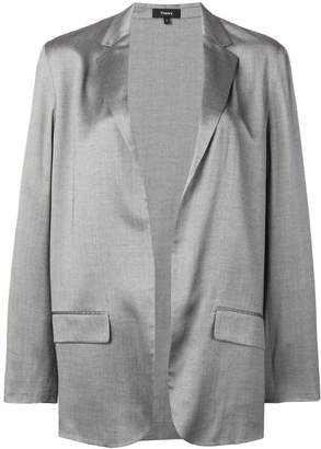 Theory classic open-front blazer