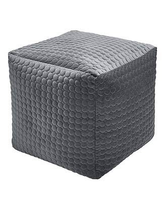 Fashion World Velvet Opulence Quilted Cube