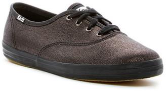 Keds Champion Metallic Canvas Sneaker $45 thestylecure.com