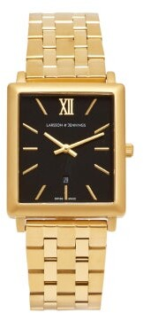 Larsson & Jennings Norse 18kt Gold Plated Stainless Steel Watch - Mens - Gold