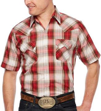 b92fc09ec94 Ely Cattleman Mens Short Sleeve Western Shirt - Tall