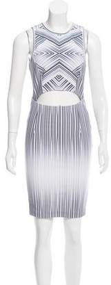 Torn By Ronny Kobo Sleeveless Striped Dress