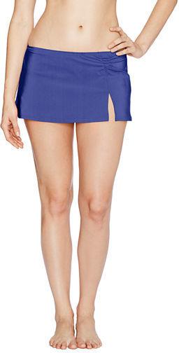 Lands' End Women's Seaside Gardens Mini SwimMini Swim Skirt