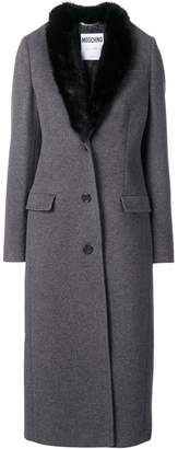 Moschino single-breasted fitted coat