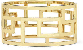 JCPenney Bold Elements Gold-Tone Wide Geometric Cuff Bracelet
