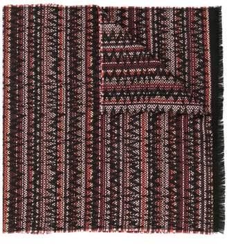 Missoni geometric print scarf