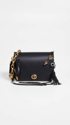 Coach 1941 Dinky 19 Crossbody Bag with Charms and Leather Strap