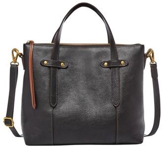 Fossil Felicity Satchel Handbag Black
