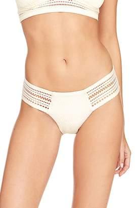 Robin Piccone Perla Crochet Bikini Bottoms