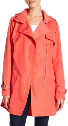 MICHAEL Michael Kors Notch Collar Trench Coat