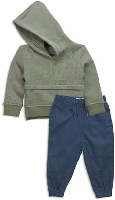 Sovereign Code Boys' Textured Hoodie & Jogger Pants Set