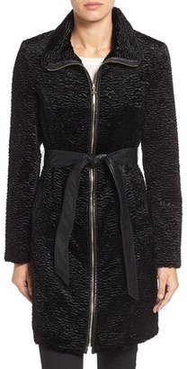 Women's Ellen Tracy Textured Trench Coat $350 thestylecure.com