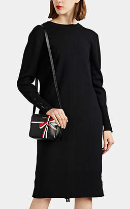 Thom Browne Women's Backward Wool Cardigan Midi-Dress - Black