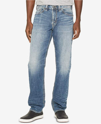 Silver Jeans Co. Men's Hunter Loose-Tapered Fit Stretch Jeans