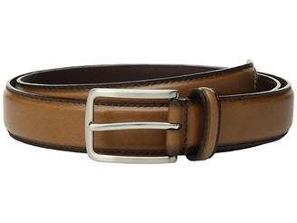 Stacy Adams 32 mm Full Grain Leather Top w/ All Leather Lining Cross Stitch Perforated Tip