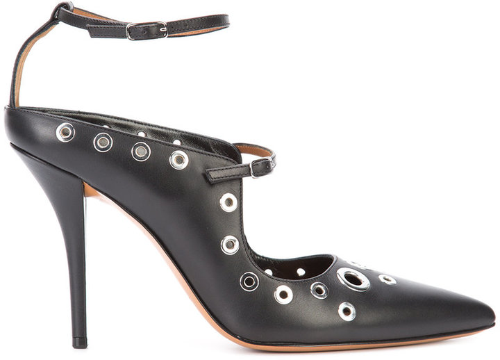 Givenchy eyelet embellished pumps
