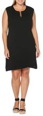 Rafaella Plus Sleeveless Shift Dress