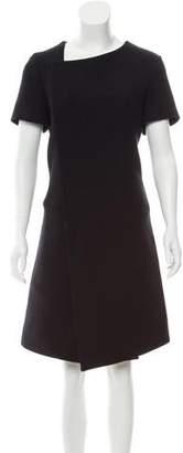 Balenciaga Short Sleeve Midi Dress