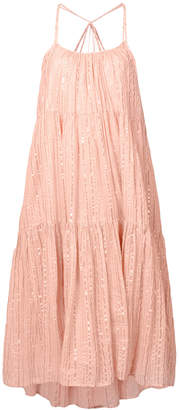 Ulla Johnson Samara stripe flared dress
