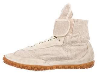 Balenciaga Canvas High-Top Sneakers