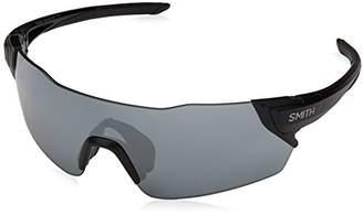 Smith Unisex Adults' Attack XB 003 Sunglasses, (Matt Black/Slf Silver)