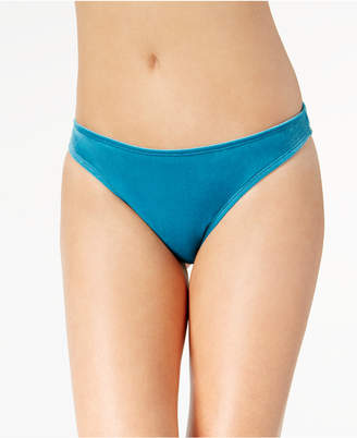 California Waves Juniors' Velvet Hipster Bikini Bottoms, Created for Macy's Women's Swimsuit