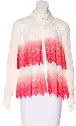 ICB Lace & Silk Top