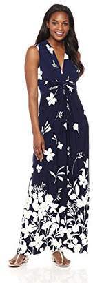Eliza J Women's Maxi Dress with Knot Front