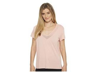 Puma Slouchy-V Mesh Tee Women's T Shirt