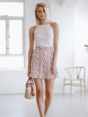 'Kim' Floral Mini Skirt