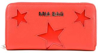 Mia Bag Star Zip Around Wallet