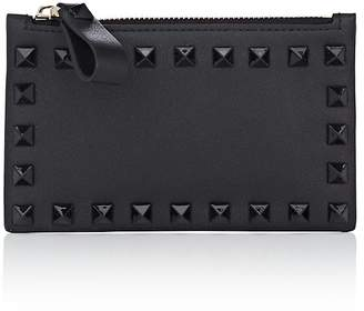 Valentino Women's Rockstud Leather Card Case