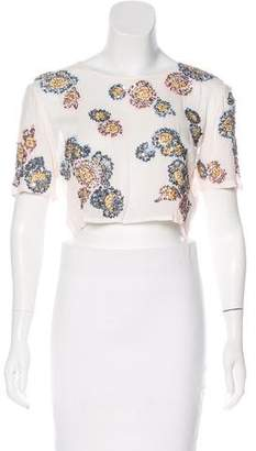 Cleobella Embellished Crop Top