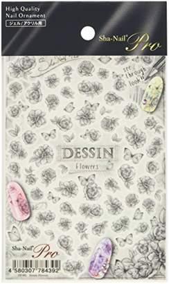 Dessin (デッサン) - 写ネイルプロ ネイルシール デッサン フラワーズ アート材