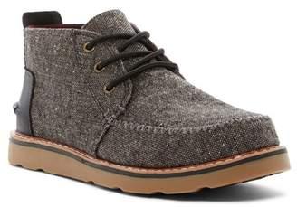 Toms Charcoal Fleck Chukka Boot