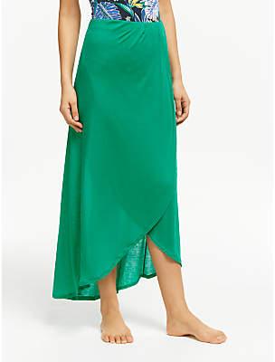 e90ad8ea66b John Lewis & Partners Rib Jersey Bandeau Skirt Dress
