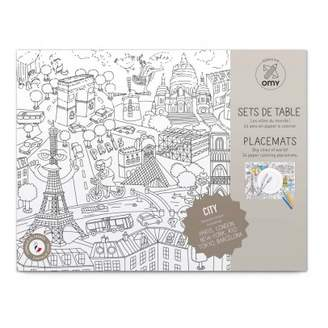 Omy City 2 Colouring Table Set