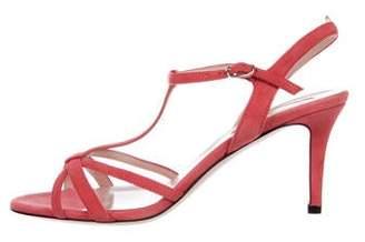 Sarah Jessica Parker Suede Ankle Strap Sandals w/ Tags
