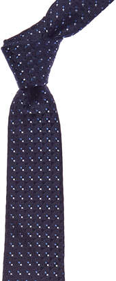 Givenchy Navy Silk Tie
