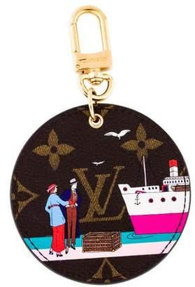 Louis Vuitton Monogram Illustre Transatlantic Bag Charm